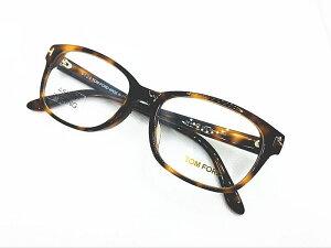 TOM FORD(トムフォード) TF5406-F 053 正規品  定価47,300円 アジアンフィット 眼鏡 メガネ フレーム メンズ レディース ギフト ブラウン べっ甲色 ウェリントン スクエア