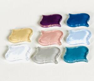 ガラスのモロッカンタイル 8色から選べます 1個からのバラ売りランテルナ アクセントグラス ガラスタイプ ランタンタイル モロッカンタイル モロッコタイル 01G〜8色 DIY インテリア タイル r