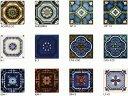 アンティーク 150角 デザインタイル 花柄 トルコ・イスラム・ヨーロッパ風(モロッコ風・モロッカン)な磁器絵タイル…