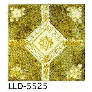 アンティーク デザインタイル 150角 花 イスラム風(昭和レトロ)な磁器絵タイルです。 壁、床(キッチン カウンター・テーブル・浴室)のDIYリフォーム、 プランター作成にお勧めです。