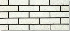陶彩 ブリックタイル 1枚単位の販売(磁器質 壁タイル)白煉瓦風 岩面 壁(玄関・塀・リビング・店舗・コンクリート ブロック・ベニヤ・ボード) のDIYリフォームにOK。南欧風の壁用 二丁掛 レンガ タイル ブリック、エクステリア建材・壁材です