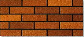陶彩 ブリックタイル 1枚単位の販売(磁器質 壁タイル)赤茶 煉瓦風 岩面 壁(玄関・塀・リビング・店舗・コンクリート ブロック・ベニヤ・ボード) のDIYリフォームにOK。南欧風の壁用 二丁掛 平 レンガ タイル ブリック、エクステリア建材・壁材です
