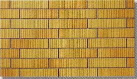 45四丁 レンガ調 スクラッチ面 ブリック 磁器タイル 煉瓦色 接着剤貼り用 シート(12枚)販売です。外壁・内壁(玄関・エントランス・マンション)のDIYリフォームにお勧め