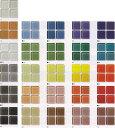 ガラスモザイクタイル シート販売 25角。床・壁(キッチン カウンター トイレ)のDIYリフォームに。透明感のあるシン…