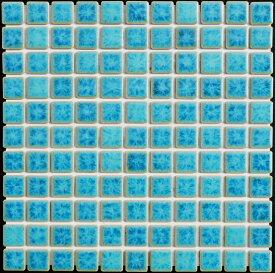 25角タイル モザイクタイル シードロップ SP43 緑色 窯変ミックス シート 販売 アンティーク 水のゆらぎ調のカラフルなミックス デザイン 内 外、床 壁 キッチン カウンター 浴室 洗面所 浴槽 トイレ 玄関 DIY リフォーム