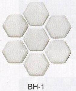 和風 モザイクタイル シート 磁器 六角 アンテイーク 壁用 レトロモダンな粉雪・くすんだ白色。キッチン カウンター お風呂 浴室 浴槽 床 壁 洗面台 玄関 テーブル トイレをDIYで、おしゃれ