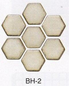 和風 モザイクタイル シート 磁器 六角 アンテイーク 壁用 レトロモダンな乳白色。キッチン カウンター お風呂 浴室 浴槽 床 壁 洗面台 玄関 テーブル トイレをDIYで、おしゃれにリフォーム