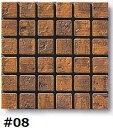モザイクタイル シート アンティーク 大理石調 23角 マット グレー。キッチン・壁等のDIYに(144粒)
