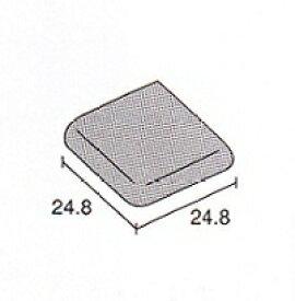 両面(隅用)25角 レトロ モザイクタイル 最薄 4.4mm厚 1枚単位の販売 両面 浴室 内装 床 壁用