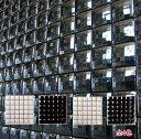 ミラー モザイクタイル 50角 磁器タイル シート(36粒) 白と黒のおしゃれなデザインタイル 壁用 キッチン カウンター・…