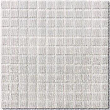 モザイクタイル シート販売。アート25角 白。ミックスデザインタイル対応、おしゃれなアンティーク、レトロモダン風。キッチン・玄関・テーブル・浴室(風呂)洗面所のDIYリフォームにOK。床・壁インテリア建材・美濃焼・耐熱