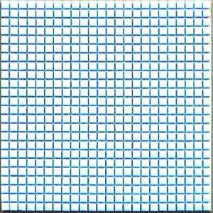 【送料無料】「白」10mm角モザイクタイル 1シート(576粒)だけの販売 10x10x4mm 10ミリ レターパック