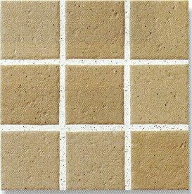 アースフロア 100角 茶色 テラコッタ調(磁器 タイル)シート(9枚)販売です内床(ベランダ・テラス・土間) 外床(玄関 ポーチ・ガーデニング・駐車場)壁 のDIYリフォームにお勧め。 防滑・洋風建築の建材(エクステリア用)です。