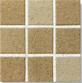 アースフロア 100角 テラコッタ調(磁器 タイル)シート(9枚)販売です内床(ベランダ・テラス・土間) 外床(玄関 ポーチ・ガーデニング・駐車場)壁 のDIYリフォームにお勧め。 防滑・洋風建築の建材(エクステリア用)です。