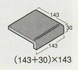 階段 アースカラー 磁器タイル 床用150角 大きな色むらアリ 1枚単位の販売