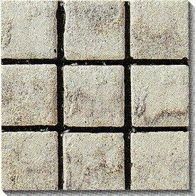 古窯クラフトタイル 白 KY101 磁器タイル 床・壁用100角 大きな色むらアリ 1枚単位