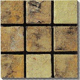 古窯クラフトタイル 茶色 KY102 磁器タイル 床・壁用100角 大きな色むらアリ 1枚単位