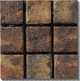 古窯クラフトタイル こげ茶色 KY106 磁器タイル 床・壁用100角 大きな色むらアリ 1枚単位
