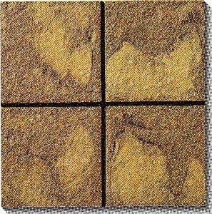 古窯クラフトタイル 茶 KY205 磁器タイル 床・壁用200角 大きな色むらアリ 1枚単位