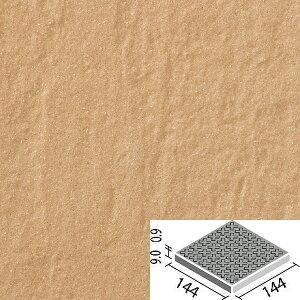 タイル アレス 150mm角歩道用スロープ(Fパターン) ALS-150/6F / LIXIL INAX