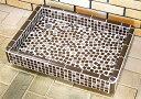 タイル洗面台 ガーデンシンクMサイズ0206ブラウン