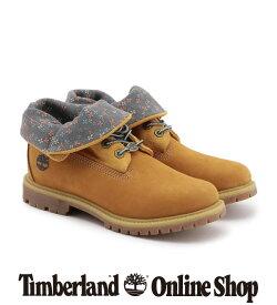 【公式】ティンバーランド ウィメンズ オーセンティクス ロールトップ - ウィートフラワー Timberland