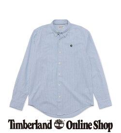 【公式】ティンバーランド メンズ 長袖 インディアン リバー オックスフォード シャツ Timberland