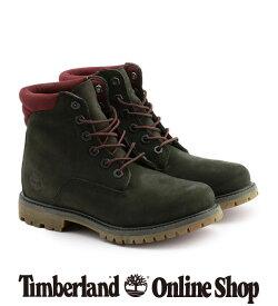 【公式】ティンバーランド レディース ウォータービル 6インチ ベーシック - ダークグリーン Timberland