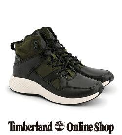 【公式】ティンバーランド ハイカット timberland メンズ フライローム ゴー レザー ハイカー ダークグレー