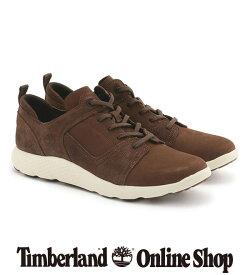 【公式】ティンバーランド timberland メンズ フライローム レザー オックスフォード - ダークブラウン Timberland