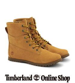 【公式】ティンバーランド timberland レディース ジョスリン ミッド レース サイド ジップ - ウィート Timberland 靴