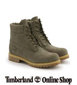 【公式】ティンバーランド timberland メンズ ティンバーランド 6インチ シックスインチブーツ プレミアム ブーツ - オリーブ Timberland