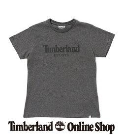 【公式】ティンバーランド レディース ウィメンズ フロッキング ロゴ ティー Timberland