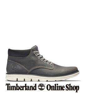 【公式】ティンバーランド Timberland アウトレット メンズ ブラッドストリート レザー チャッカ ブーツ - ダークグレーA1K52 アウトドア カジュアル タウンユース シンプル コンフォート レザー