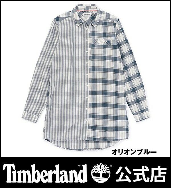 【アウトレット】ティンバーランド timberland レディース ロングポンド ミックス チュニック【ULTRA】