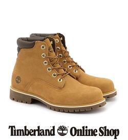 【公式】ティンバーランド メンズ アルバーン 6インチ ウォータープルーフ ブーツ - ウィート Timberland