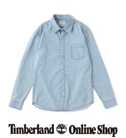ポイント最大50%還元:7.31 (FRI) 17:00 - 8.11 (TUE) 9:59|【公式】ティンバーランド メンズ 長袖 インディアン リバー デニム シャツ Timberland