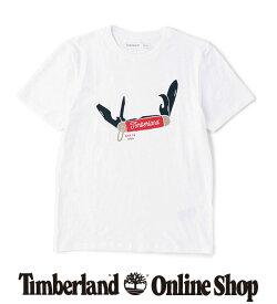 ポイント最大50%還元 : 1/24 (日) 10:00 - 1/28 (木) 9:59|【公式】ティンバーランド メンズ 半袖 フロント グラフィック Tシャツ Timberland