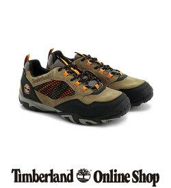【公式】ティンバーランド メンズ クレストリッジ ウォータープルーフ ロー ハイキング シューズ - ミディアムブラウン Timberland