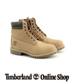【公式】ティンバーランド メンズ 6インチ プレミアム ウォータープルーフ ブーツ - ライトブラウン Timberland