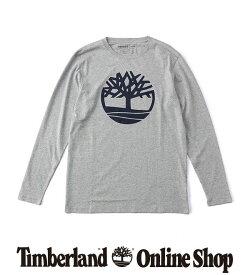 ポイント最大50%還元:7.31 (FRI) 17:00 - 8.11 (TUE) 9:59|【公式】ティンバーランド メンズ 長袖 ツリー ロゴ リンガー Tシャツ Timberland