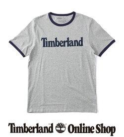 ポイント最大50%還元:7.31 (FRI) 17:00 - 8.11 (TUE) 9:59|【公式】ティンバーランド メンズ 半袖 リニア ロゴ リンガー Tシャツ Timberland
