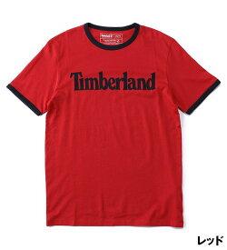 ポイント最大50%還元 : 1/24 (日) 10:00 - 1/28 (木) 9:59|【公式】ティンバーランド メンズ 半袖 リニア ロゴ リンガー Tシャツ Timberland
