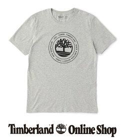 ポイント最大50%還元 : 1/24 (日) 10:00 - 1/28 (木) 9:59|【公式】ティンバーランド メンズ 半袖 サークル ロゴ Tシャツ Timberland