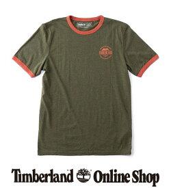 ポイント最大50%還元 : 1/24 (日) 10:00 - 1/28 (木) 9:59|【公式】ティンバーランド メンズ 半袖 ビンテージ インスパイアード グラフィック リンガー Tシャツ Timberland