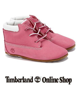 【公式】ティンバーランド 【オンラインショップ限定】インファント クリブ ブーティ&ハット セット - ピンク Timberland ブーツ
