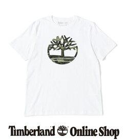 ポイント最大50%還元:7.31 (FRI) 17:00 - 8.11 (TUE) 9:59|【公式】ティンバーランド 【オンラインショップ限定】メンズ 半袖 ケネベック リバー カモ ツリー Tシャツ Timberland