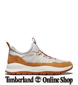 【公式】ティンバーランド メンズ ボロウズ プロジェクト レザー&ファブリック オックスフォード スニーカー - ウィート Timberland