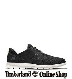 【公式】ティンバーランド メンズ グレイドン レザー&ファブリック オックスフォード シューズ - ブラック Timberland