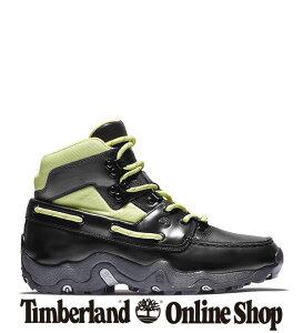 【公式】ティンバーランド timberland アウトレット メンズ ハイカー リミックス - ブラック 黒 A2HG4 レザー クッション性 耐久性 ラバーアウトソール イエローブーツ靴 スニーカー ブーツ ハイ